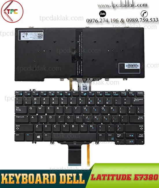 Bàn phím Laptop Dell Latitude E7380, E7389 | Keyboard For Dell Latitude E7380 - E7389