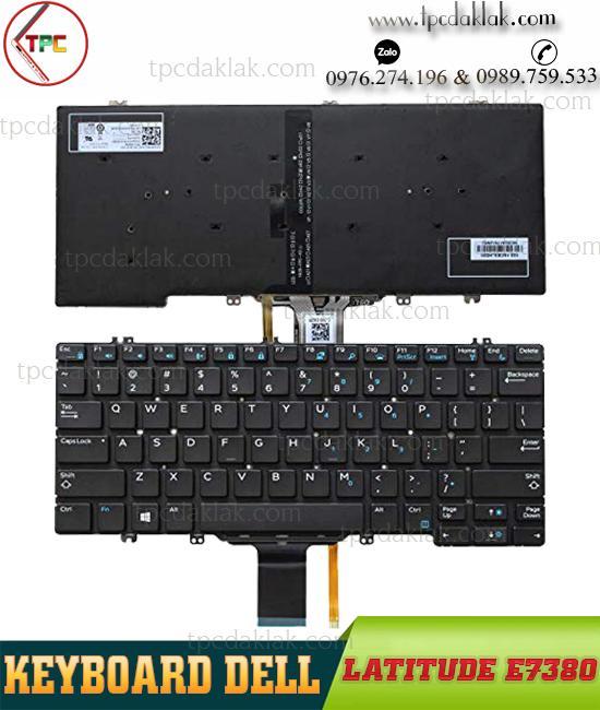 Bàn phím Laptop Dell Latitude E7380, E7389 | Keyboard For Dell Latitude E7380 - E7389