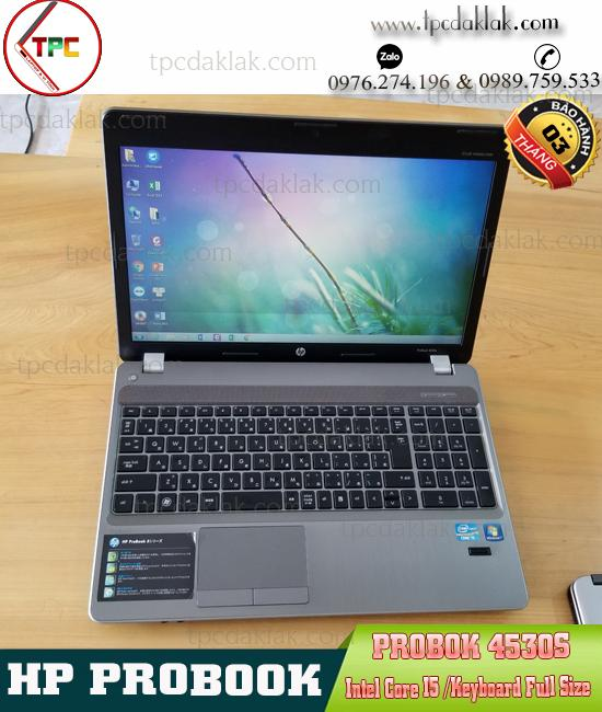 Laptop HP Probook 4530s |Core I5 - 2540M | RAM 4GB | HDD 250GB |LCD 15.0 INCH | Laptop Cũ Bmt