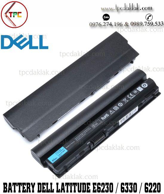 Pin Laptop Dell Latitude E6220, E6230, E6320, E6330, E6430s, E6120 | 312-1241,  WJ383, F7W7V