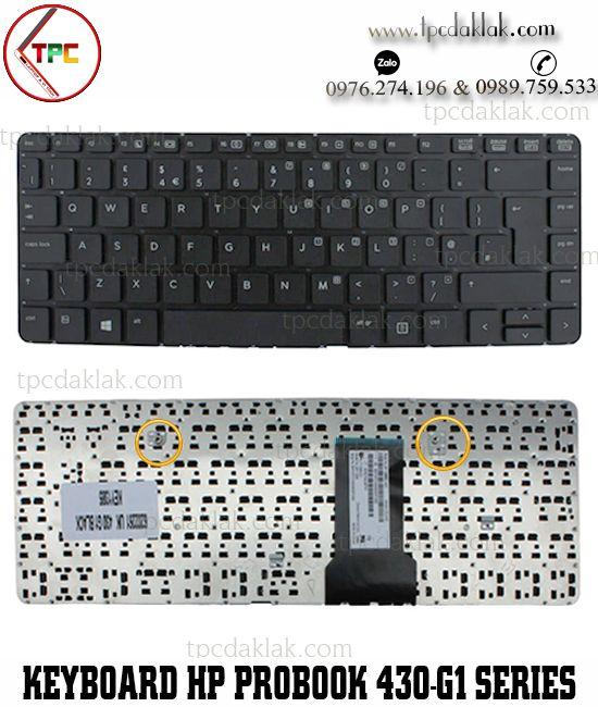Bàn phím Laptop HP ProBook 430, 430-G1, 430 G1, 430G1, 727765-071, 90.4YV07.L0R, SN8124