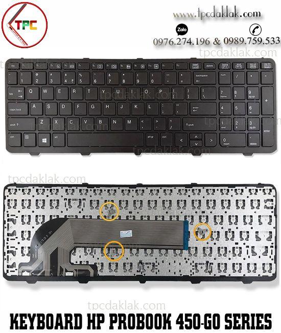 Bàn phím Laptop HP Probook 450, 450 G0, 450 G1, 450 G2, 455, 455 G1, 455 G2, 470, 470 G0, 470 G1, 470 G2