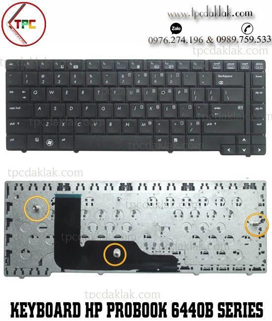 Bàn phím Laptop HP ProBook 6440b, 6445b, 6450b, 6455b, N2W82.M01, 9Z.N2W82.M0E keyboard