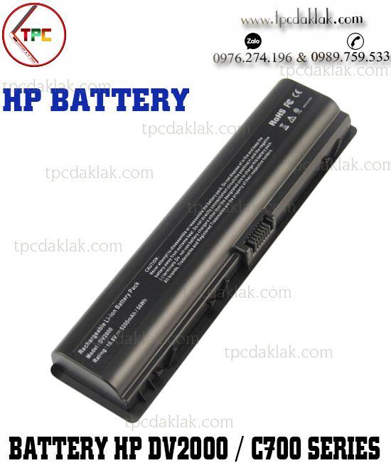 Pin Laptop HP Pavilion DV2000, DV6000 - Presario V3000, V6000, F500, F700, C700, A900, G7000