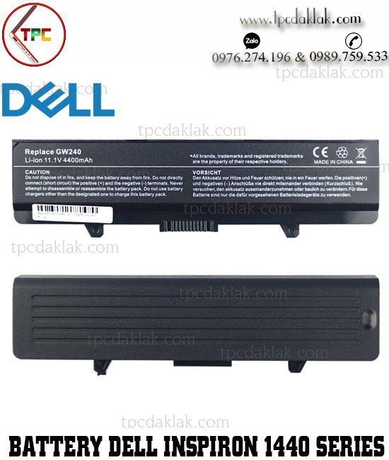 Pin laptop Dell Inspiron 1440, 1525, 1526, 1545, 1546, 1750, Vostro 500 | 0WP193, C601H, CR693