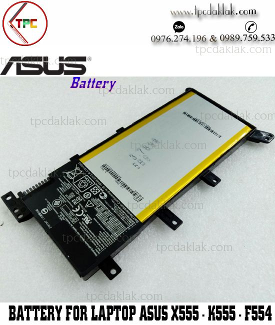 Pin Laptop Asus X555,  A555, K555, R556, V405, W409L, Y583 | Battery For Asus X555 Series