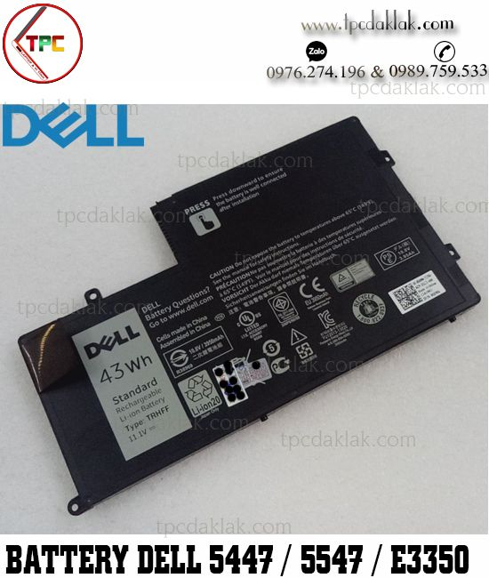 Pin Laptop Dell Inspiron 14 5000 - 5447 - Inspiron 15 5000 - 5547 - Laitude E3350, 3450