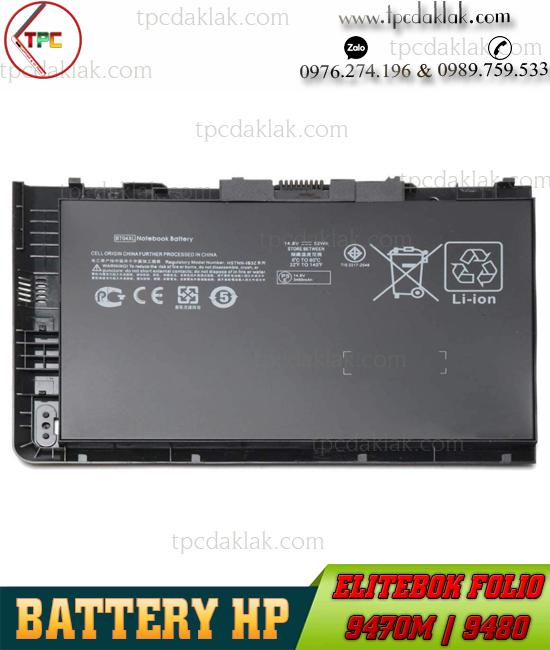 Pin Laptop HP Elitebook 9470M, 9480M, BA06  | Battery For HP Elitebook 9470M, 9480M
