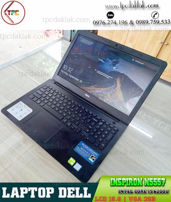 """Laptop Dell Inspiron 15 N5557 Core I5 6200U, RAM 8GB, SSD 128GB, Nvidia 930M 4GB, LCD 15.6"""" HD"""