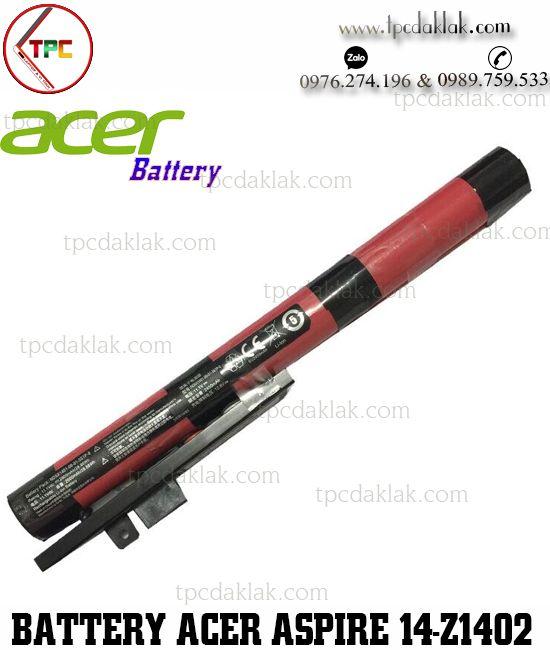 Pin Laptop Acer Aspire 14 Z1402 ( 31B8, 31ZJ, 32F2, 32G0, 343F, 34M3, 38GR, 394D, 58KT )   18650-02-04-3s1p-1