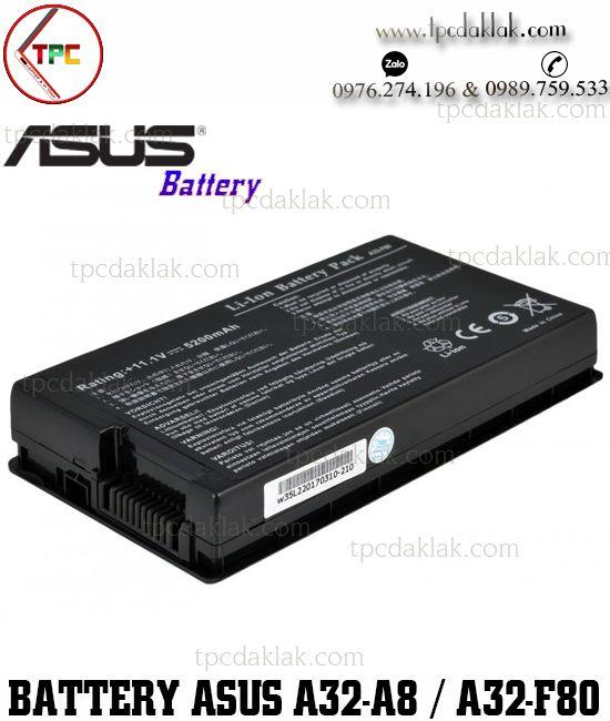 Pin Laptop Asus A32-A8, A32-F80, A32 - F8, F50, F80, F81, F83, PRO61, PRO86, N80, N81, X80, X81, X61