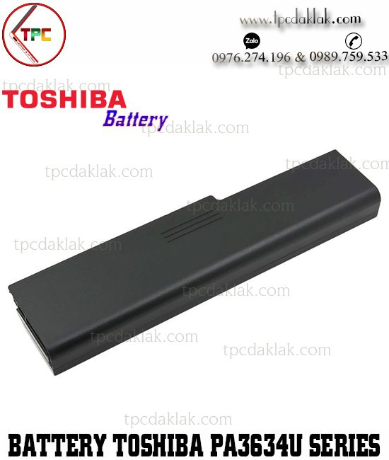 Pin Laptop Toshiba PABAS229, 3634, 3635, 3638, 3816, 3827, 3818, 3634U, 3635U ( Battery )