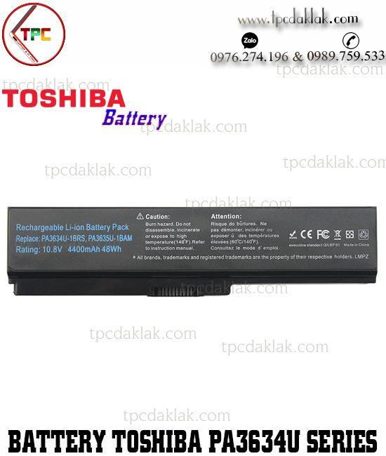 Pin Laptop Toshiba PA3818U-1BRS, PABAS117,  PABAS178, PABAS201, PABAS227 ( Battery )