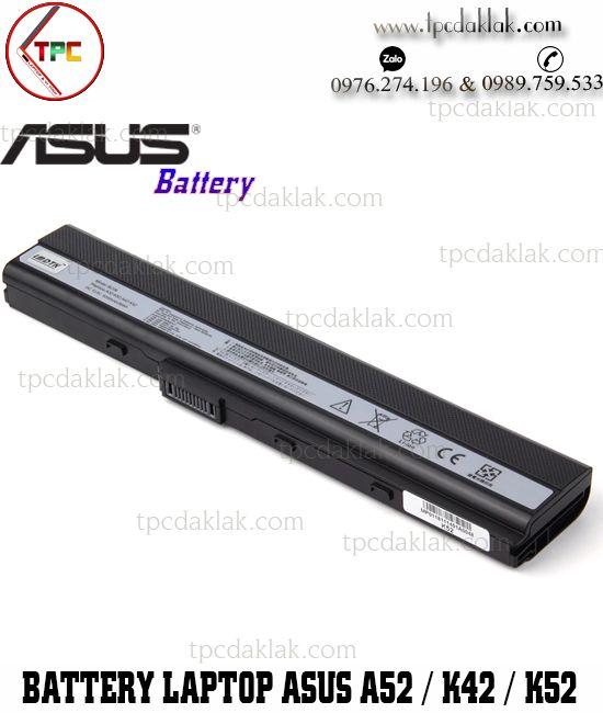 Pin Laptop Asus A52, K42, K52, A31-K52, A32-K52, A41-K52, A42-K52, A31-B53, K52L681, 90-NYX1B1000Y