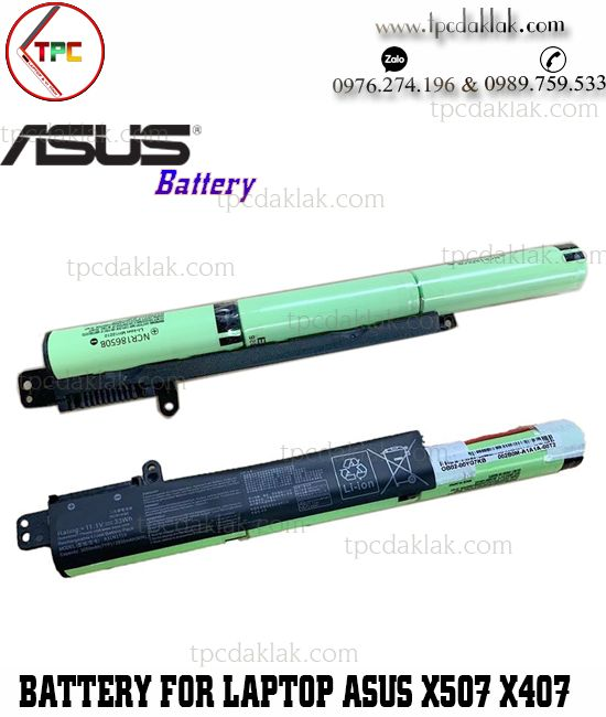 Pin Laptop Asus VivoBook X507, X407, X507MA, X507MA1B, X507UB, X407MA-1B X407UA, A31N1719