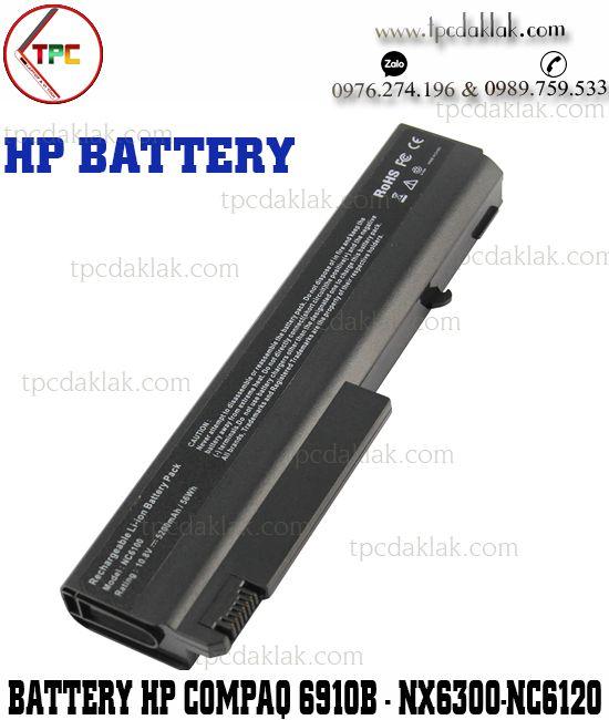 Pin Laptop HP Compaq 6510b 6515b 6715b 6910p - Business Notebook NC6100, NX6120, NX6130