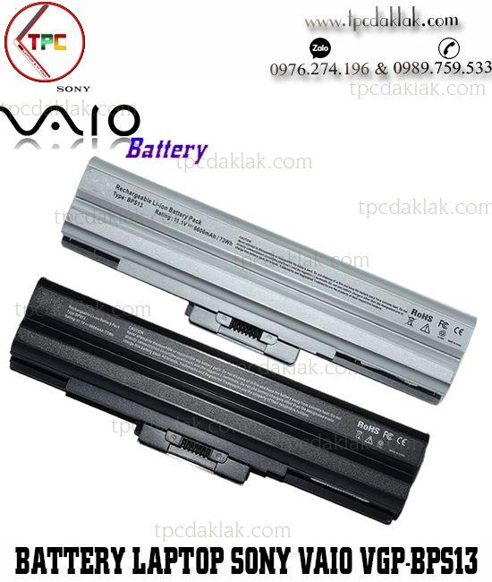 Pin Laptop Sony Vaio VGP-BPS13, VGP-BPS21A, VGN-AW, VGN-BZ, VGN-CS, VGN-FW, VGN-NS, VGN-NW, VGN-SR