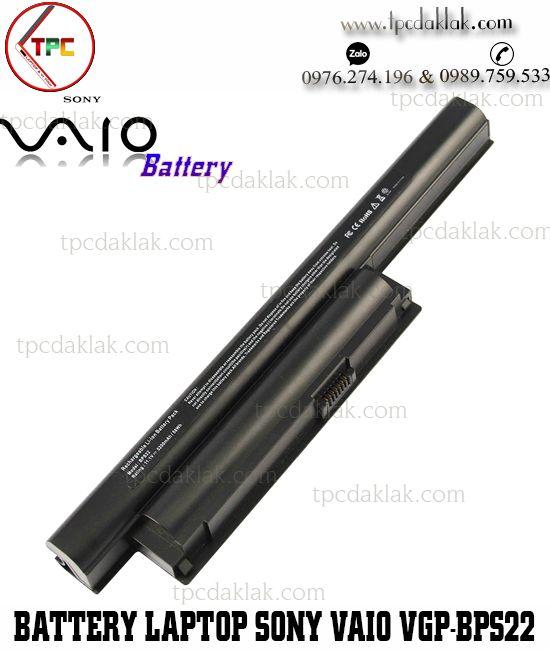 Pin Laptop Sony VAIO VGP-BPS22, VGP-BPL22, PCG-71318L, VPC-EB, VPC-EC, VPC-EE, VPC-EE, VPC-EA