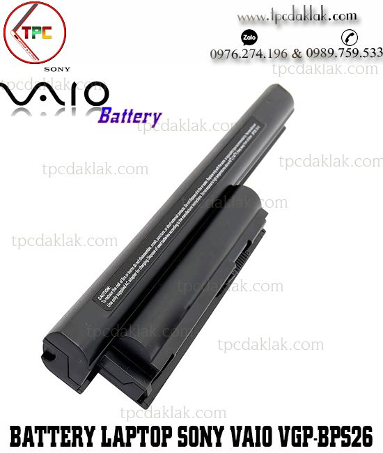 Pin Laptop Sony Vaio VGP-BPS26, SVE14, 15, 17, VPC-CA, VPC-CB, VPC-EG, VPC-EH, VPC-EJ, VPC-EK, VPC-EL