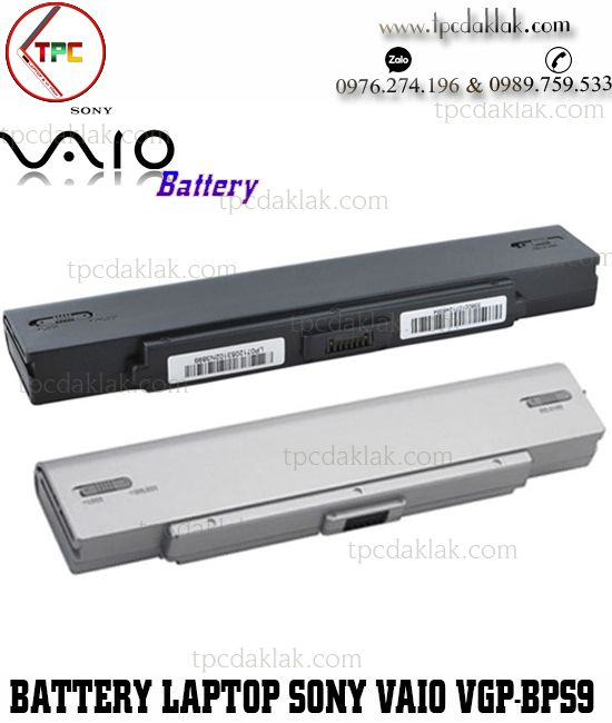 Pin Laptop Sony Vaio VGP-BPS9, VGP-BPL9, VGN-CR, VGN-AR, VGN-CR, VGN-NR, VGN-SZ, VGP-BPS9/B
