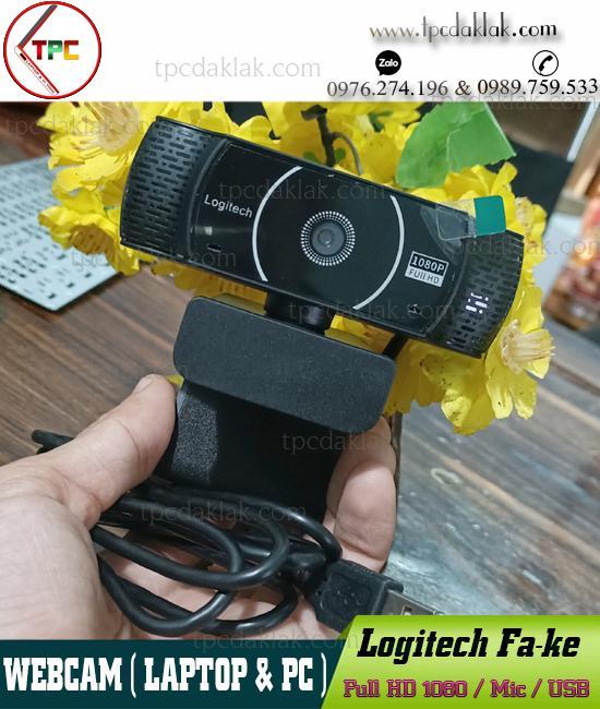 Webcam Logitech Fa-ke C922 Full HD 1080p ( Video & Mic ) | Camera Máy Tính Noname Full HD 1080p