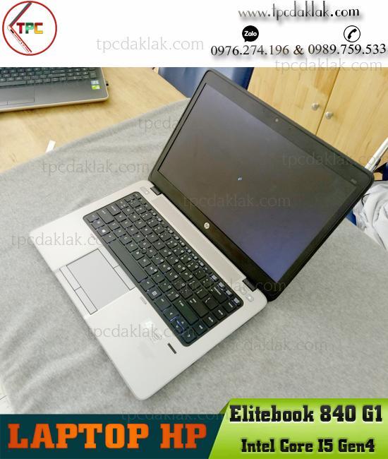 """Laptop HP Elitebook 840 G1/ Intel Core I5 4300u/ Ram 4GB PC3L/ SSD 128GB/ Graphics 4400/ LCD 14.0"""" HD"""