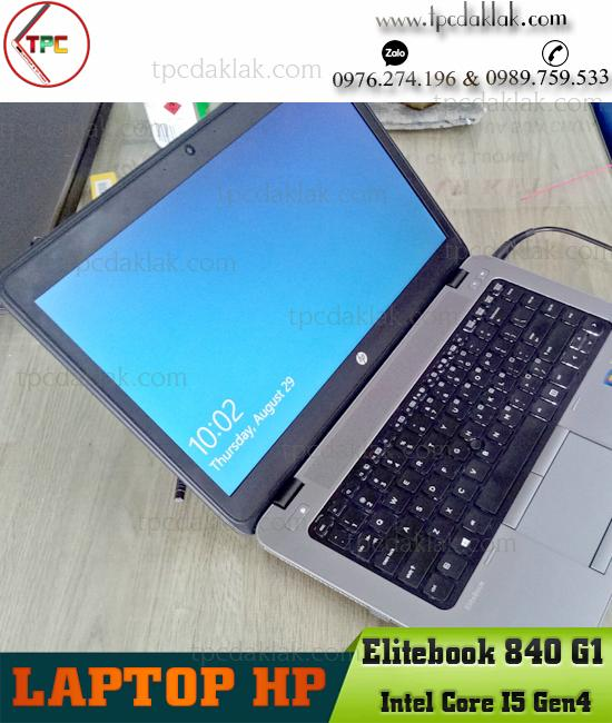 Laptop HP Elitebook 840-G1  Core I5 4300U   Ram 4GB   HDD 320GB   14.0 INCH   Laptop cũ BMT