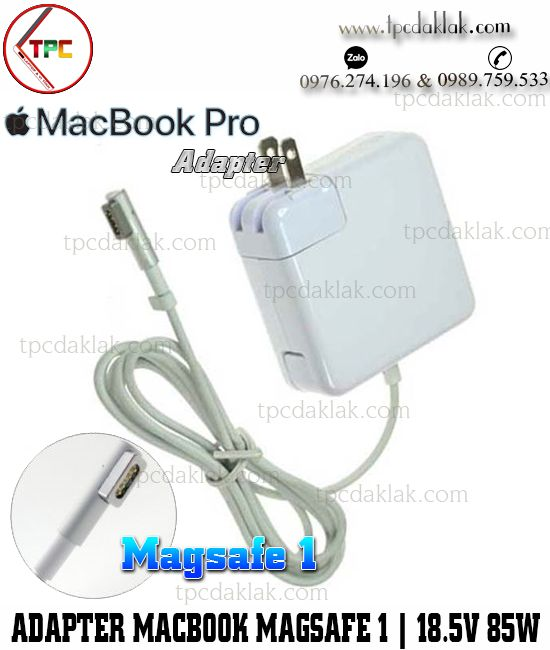 Sạc Apple Macbook Pro ( 15-inch, Mid 2012 ) | Adapter Apple Macbook Magsafe 1 18.5V -  4.6A 85W