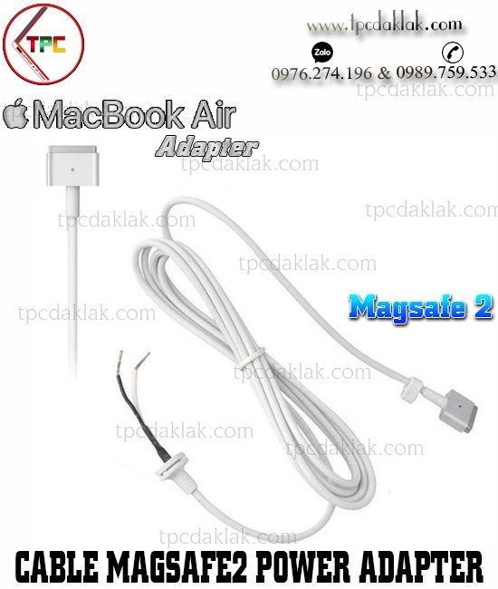 Cable Adapter Magsafe2 Charger | Cáp thay thế cho sạc macbook chuẩn Magsafe 2 ( 45w, 60w, 85w )