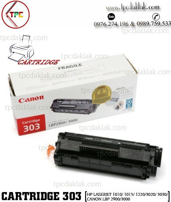 Hộp mực máy in Cartridge 303 / 12A - HP LaserJet 1010/ 1015/ 1220/3020/ 3030/ M1319f MFP/Canon LBP 2900/3000