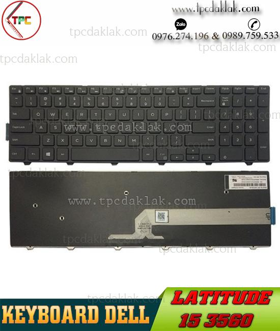 Bàn Phím Laptop Dell Latitude 15 3560 | Keyboard Laptop For Dell Latitude 15 3560