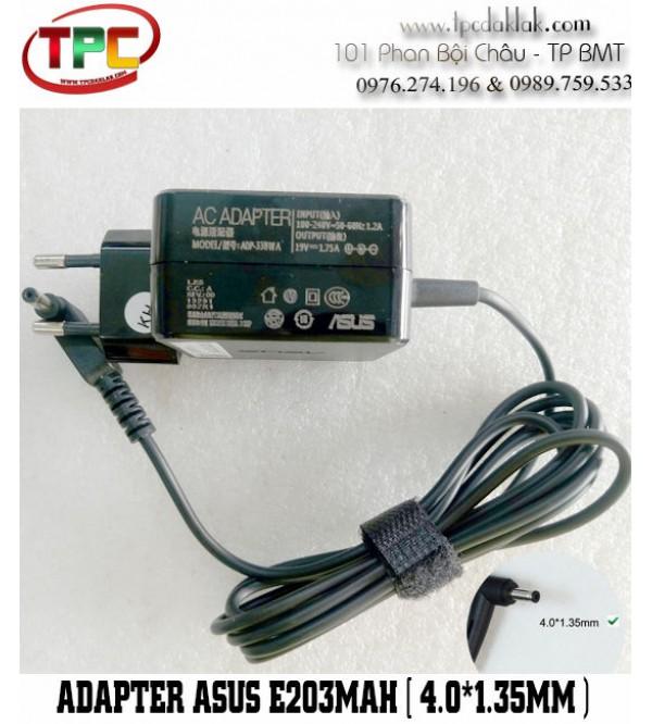 Sạc Laptop Asus  E203MAH    Adapter Asus E203MAH  ( 19v - 1.75A  4.0mm x 1.35mm Original )
