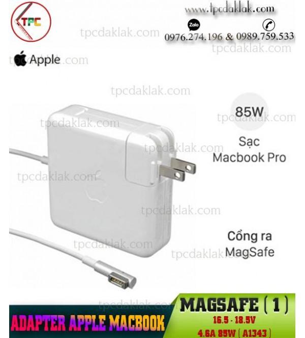 Sạc Macbook Magsafe 16.5-18.5V 4.6A 85W Model A1343   Adapter Macbook A1343 ADP-85EBT V85