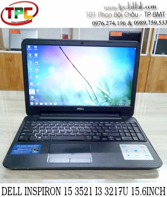 "Laptop Dell Inspiron 15 3521 - Intel Core I3 3217U/ Ram 4GB / HDD 500GB / Intel HD Graphics 4000/ 15.6""HD"