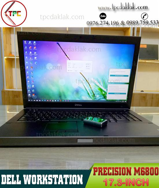"Laptop Dell Precision M6800 ( I7 4810MQ/ Ram 16GB / SSD 120GB - HDD 1TB / K4100M 4GB/ 17.3"" FHD )"