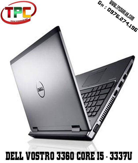 Laptop Dell Vostro 3360 | Core I5 3337U | Ram 4GB | HDD 250GB | HD Graphic 4000  | LCD 13.3 INCH