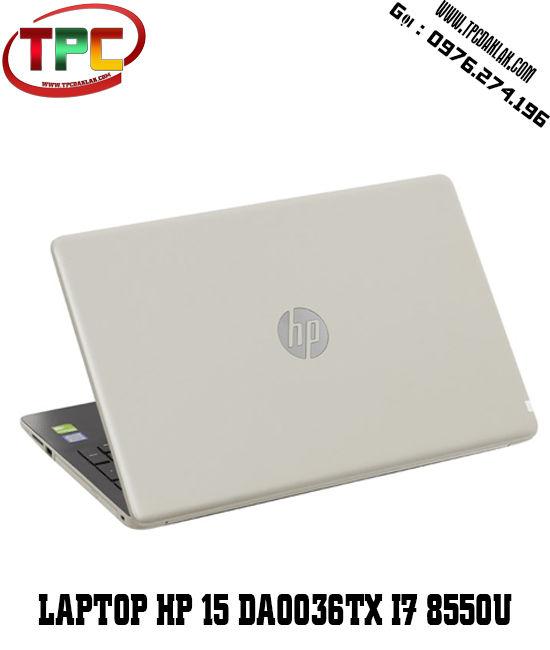 Laptop HP 15 da0036TX i7 8550U/4GB/1TB/VGA MX130 2GB/15.6 FHD | Laptop cũ Buôn Ma Thuột