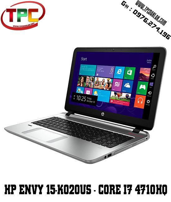 Laptop Hp Envy 15-k020us (G6U23UA) (Intel Core i7-4710HQ   RAM 8GB   HDD 1TB   15.6' FHD Touch Screen