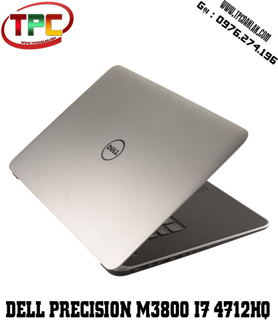 Laptop Dell Workstation| Dell Precision M3800, Core i7 4712HQ, Ram 8GB, SSD 256 GB, K1100M, 4K HD