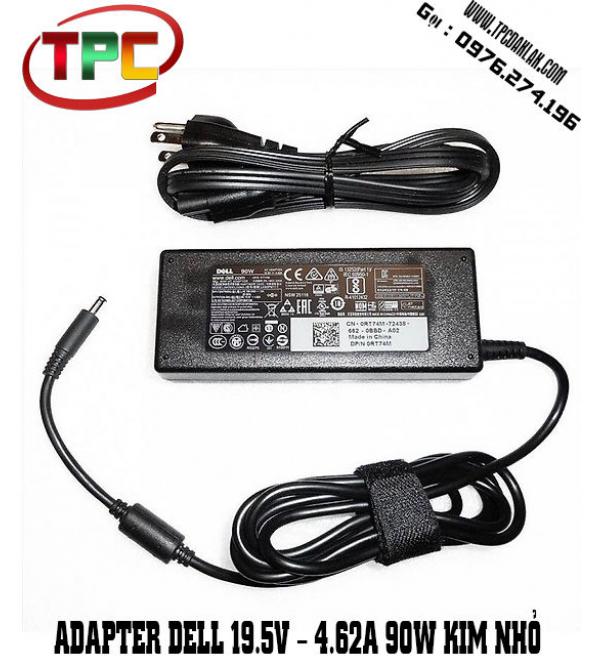 Sạc Laptop Dell 19.5V - 4.62A - 90W Chân Kim Nhỏ | Adapter For Dell 19.5V - 4.62A - 90W Kim Nhỏ