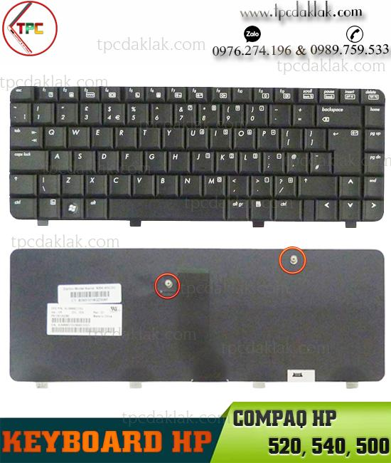Bàn phím Laptop Hp compaq HP 520, 540, 500 | Keyboard Laptop Hp compaq HP 520, 540, 500