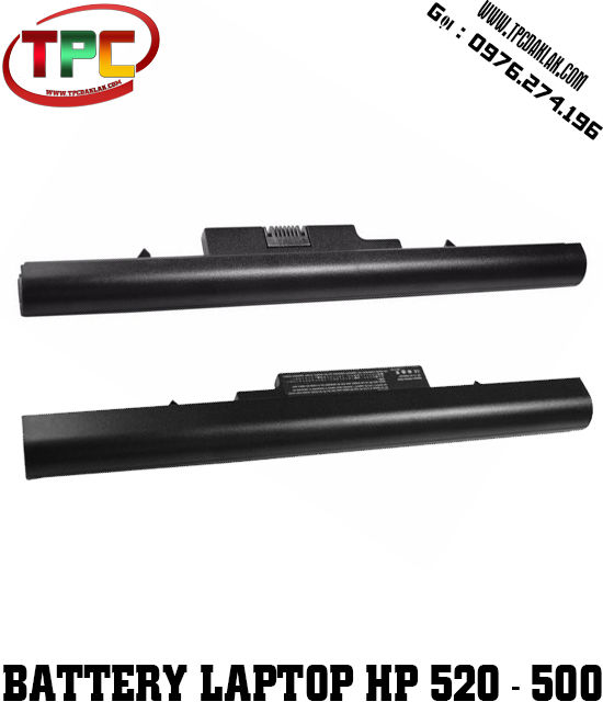 Pin Laptop HP Compaq 500 Series - Laptop HP 520 Series | Battery Laptop HP Compaq 520 Series