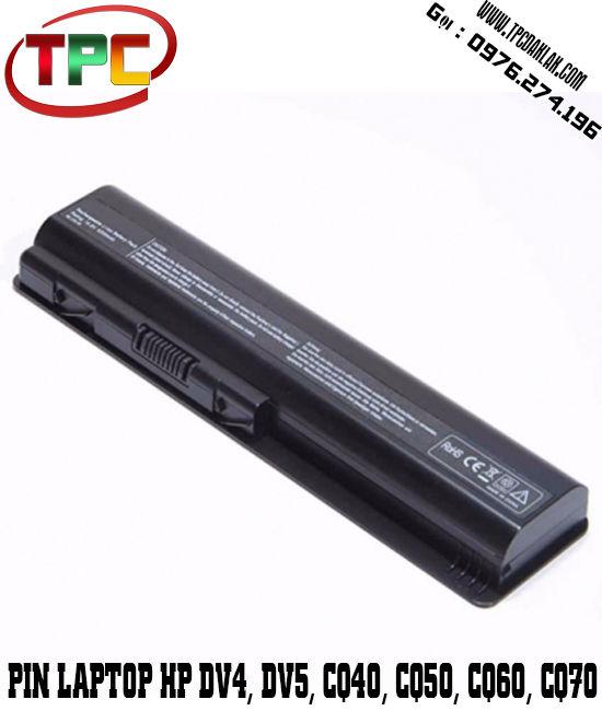 Pin Laptop HP Pavilion DV3 DV4  DV5 DV6 DV7 DM4 CQ40, CQ50, CQ60, CQ70 G60 CQ60 CQ61