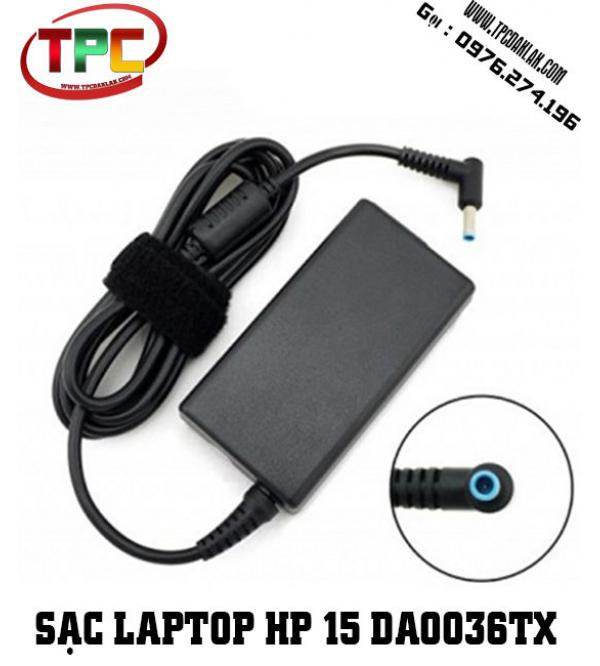 Sạc Laptop HP 15 da0036TX i7 8550U | Sạc HP chân kim nhỏ 19v 3.33A  - 4.5mm X 3.0mm
