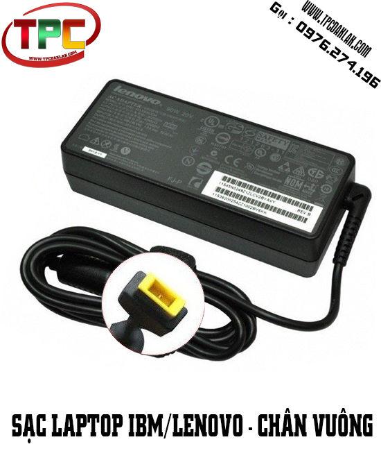 Sạc Laptop Lenovo 20V - 4.5A Đầu vuông  | Adapter Laptop Lenovo Chân USB
