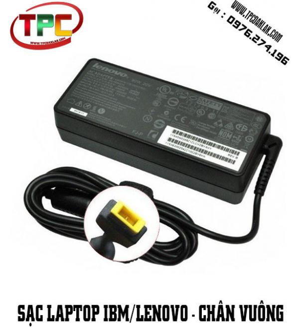 Sạc Laptop Lenovo 20V - 4.5A Chân Đầu vuông  | Adapter Laptop Lenovo Chân USB 20V 4.5A