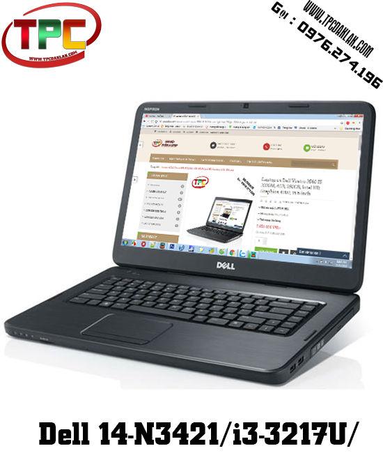 Laptop Dell Inspiron 14-N3421/i3-3217U/ Ram 4GB / HDD 320GB  | Laptop Buôn Ma Thuột