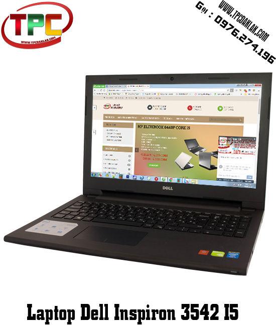 Laptop  Dell Inspiron 15 3542 - I5 4210U - RAM 4GB - VGA NVIDIA® GeForce® 820M, 2 GB