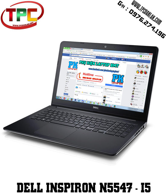 Laptop Dell Inspiron 15-N5547 I5 4210U/4GB/500GB/R7M265/15.6HD | Laptop Đak Lak