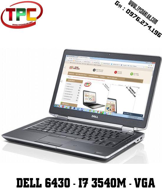Laptop Dell Latitude E6430 Core i7 3540M 4G 250G VGA NVS 5200M | Laptop xách tay Đak Lak